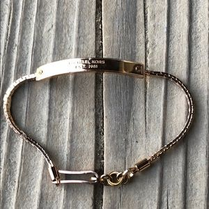 Michael Kors Rose Gold Plated ID Bracelet!